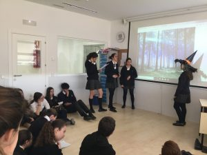 4TH ESO PERFORMED TALES FROM SHAKESPEARE Colegio Privado